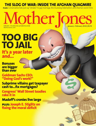 Mother Jones January/February 2010 Issue
