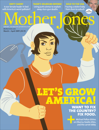 Mother Jones March/April 2009 Issue