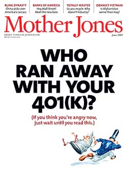 Mother Jones May/June 2009 Issue