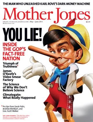 Mother Jones May/June 2011 Issue