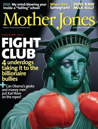 Mother Jones September/October 2012 Issue