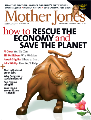 Mother Jones November/December 2008 Issue