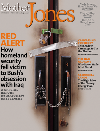 Mother Jones September/October 2004 Issue