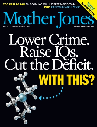 Mother Jones January/February 2013 Issue