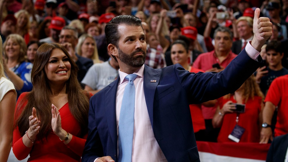 Don Jr. and Kimberly Guilfoyle