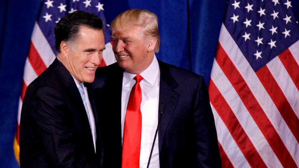 trump romney