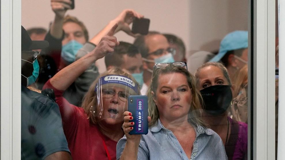 Detroit protestors