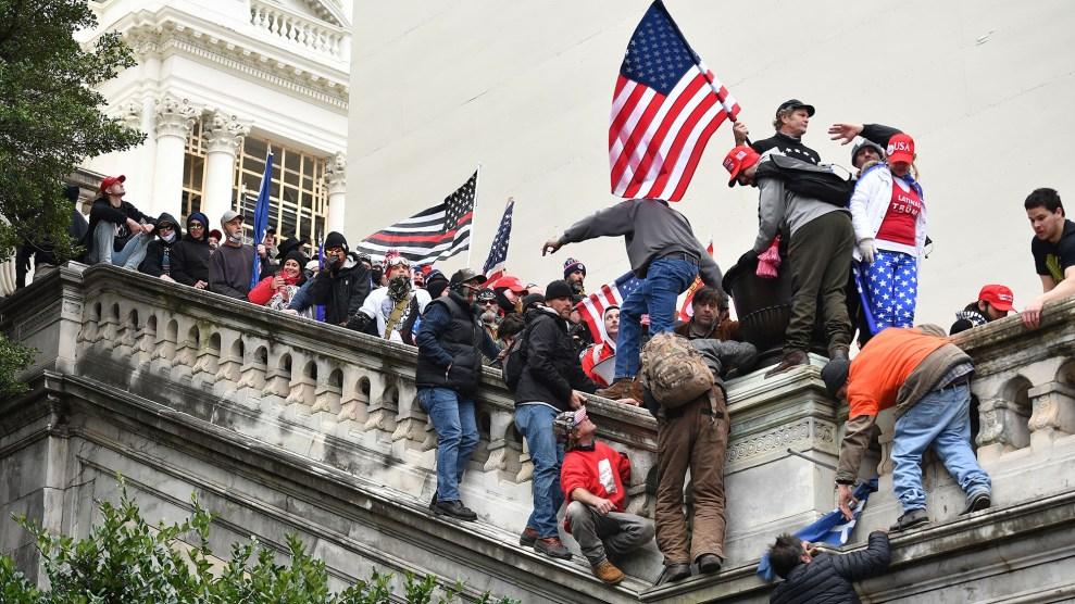 Trump rioters