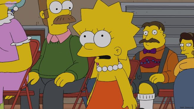 Lisa Simpson on a recent Simpsons episode.