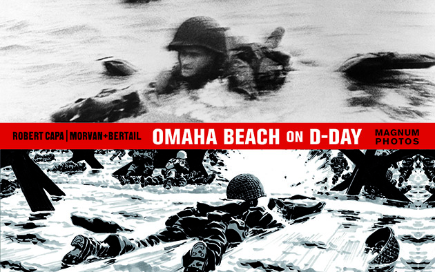 Omaha Beach on D-Day book cover