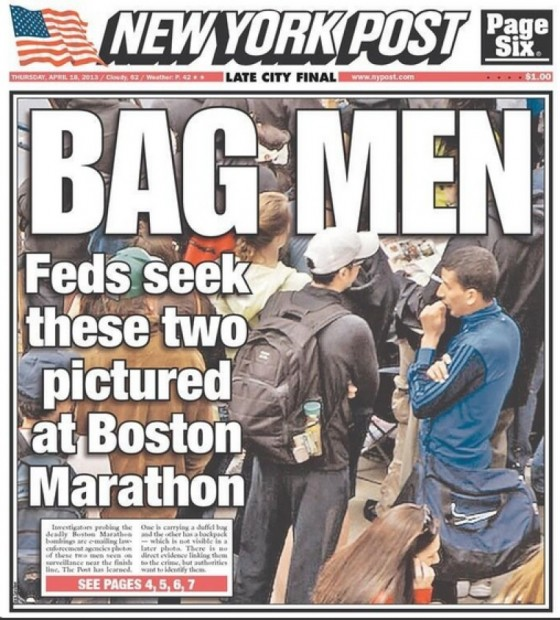 New York Post Salah Barhoun bag men