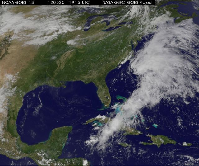 94L at 1915 Zulu on 25 May 2012 NASA | NOAA | GOES Project Science