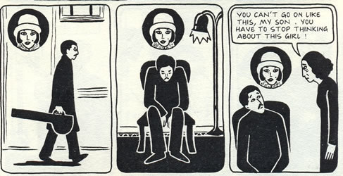 In Satrapi's graphic novel, Nasser plays the tar, a traditional instrument. TK tk tk