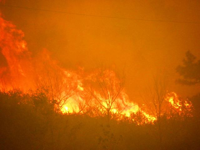 High Park Wildfire, Colorado: USDA via Flickr