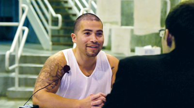 """When Paul Bocanegra got out of solitary, he says it felt """"like you're free."""" James West"""