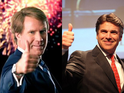 Ferrell is also real-life fraternity brothers with this other Republican you might have heard of. wiki ; wiki