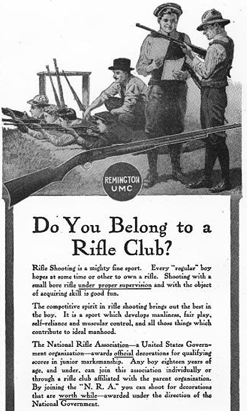 do you belong to a rifle club?